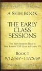 A Seth Book The Early Class Sessions Sessions 9/12/67 to 11/25/69