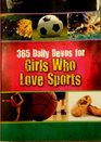 365 Daily Devos for Girls Who Love Sports