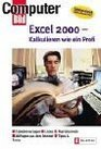 Excel 2000 Kalkulieren wie ein Profi