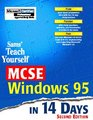Sams Teach Yourself MCSE Windows 95 in 14 Days, 2nd Edition (Covers Exam #70-064)