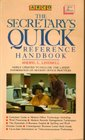 The Secretary's Quick Reference Handbook