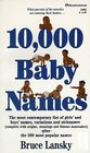 10,000 Baby Names
