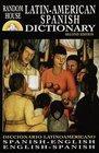 Diccionario espaol/ingls - ingls/espaol Random House Latin-American Spanish