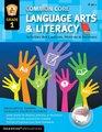 Common Core Language Arts  Literacy Grade 1 Activities That Captivate Motivate  Reinforce