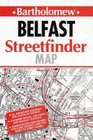 Collins Belfast Streetfinder map 425 inches to 1 mile
