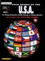 Strings Around the World Folk Songs of the USA for String Orchestra Violin Groups or String Quartet