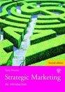 Strategic Marketing An Introduction