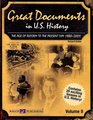 Great Documents in U.s. History: The Age of Reform to the Present Day (1880-2001)