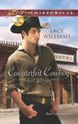 Counterfeit Cowboy (Love Inspired Historical, No 166)