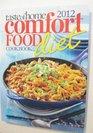 2012 Comfort Food Diet Cookbook
