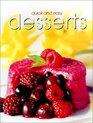 Quick  Easy Desserts