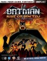 Batman Rise of Sin Tzu Official Strategy Guide