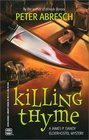 Killing Thyme (James P. Dandy Ederhostel, Bk 2)