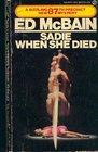Sadie When She Died (87th Precinct, Bk 26)