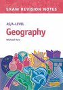 AS/A-level Geography Exam Revision Notes