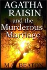 Agatha Raisin and the Murderous Marriage (Agatha Raisin, Bk 5) (Unabridged Audio Cassette)