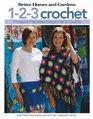 1-2-3 Crochet Beginner's Guide