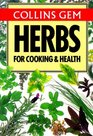 Herbs for Cooking  Health