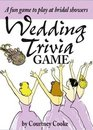 Wedding Trivia  A Fun Game to Play at Bridal Showers