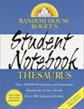 Random House Roget's Student Notebook Thesaurus : Second Edition (Handy Reference Series)