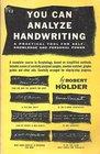 You Can Analyze Handwriting
