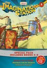 Imagination Station Books 3-Pack Revenge of the Red Knight / Showdown with the Shepherd / Problems in Plymouth