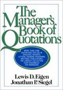 The Manager's Book of Quotations