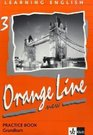 Learning English Orange Line 3 New Practice Book mit Audio-CD
