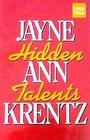 Hidden Talents (Wheeler Large Print Book)