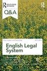 QA English Legal System 2013-2014