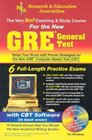 GRE General CBT w/ CD-ROM (REA) - The Best Test Prep for the GRE (Test Preps)