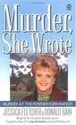 Murder at the Powderhorn Ranch (Murder, She Wrote, Bk 12)