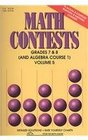 Math Contests Grades 7  8