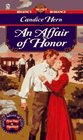 An Affair Of Honor (Signet Regency Romance)