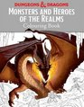 Monsters and Heroes of the Realms A Dungeons  Dragons Colouring Book