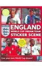 England World Cup Dream Team Sticker Scene Live Your Own World Cup Dream
