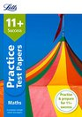 Letts 11 Success  11 Maths Practice Test Papers - Multiple-Choice For The Gl Assessment Tests