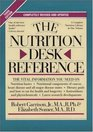The Nutrition Desk Reference (3rd Edition)