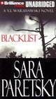 Blacklist (V. I. Warshawski, Bk 11) (Audio Cassette) (Unabridged)