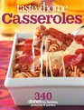 Taste of Home Casseroles 325 One-Dish Meals for Today's Family Cook