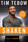 Shaken Young Reader's Edition Fighting to Stand Strong No Matter What Comes Your Way