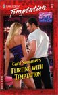 Flirting with Temptation (Single in the City) (Harlequin Temptation, No 936)