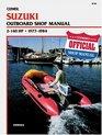Suzuki Outboard Shop Manual 2 140 Hp 1977 1984