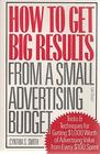 How to Get Big Results from a Small Advertising Budget