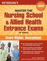 Master Nursing School and Allied Health Entrance Exam 18th ed