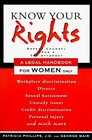Arco Know Your Rights A Legal Handbook for Women Only
