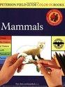 Peterson Field Guide ColorIn Book Mammals