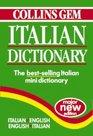 Collins Gem Italian Dictionary ItalianEnglish EnglishItalian