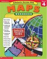 Scholastic Success With Maps Workbook Grade 4