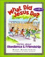 What Did Jesus Do?: Stories About Obedience & Friendship (What Did Jesus Do?)